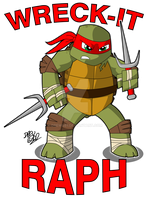 Wreck-It Raph by Drew0b1
