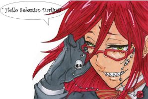 Grell Sutcliffe by Kagome-245