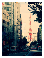 Tokyo Tower by Goth-Virgy