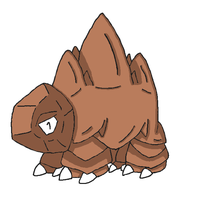 Fakemon- Mightrock by Casey333