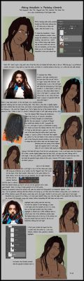Dreadlocks Tutorial by SachiAmi