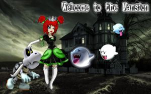 1st Place Winner: Welcome to the Mansion by kcjedi89
