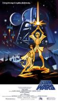 Affiche de Star Wars by Ancestral-Z