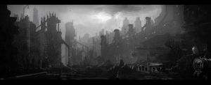 Large Industrial Landscape 3 by bull2by