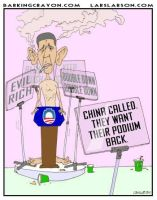 President Downgrade by Conservatoons