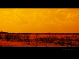 Red Sun Desolation Edit Wall by 000nevermore000