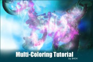 Multi-Coloring Tutorial by 8404