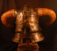 Iron Helm Backside by selever2000