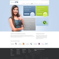 Screendesign SpeedIT Solutions by syo-arts