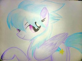 Cloudchaser by BluDraconoid