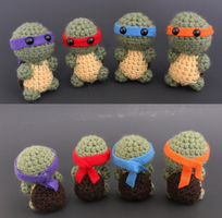 Amigurumi Ninja Turtles by Tessa4244
