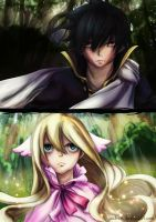 Zeref Vs Mavis by Yachuri