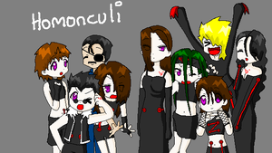Homonculi Lucky Star by zombielover94