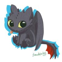 toothless by BroccoliEmiley