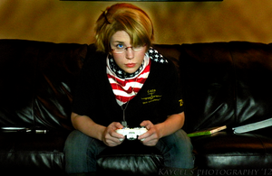 Can't Talk. Gaming. by Kateliana