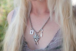 Faery Guardian Necklace by IvrinielsArtNCosplay
