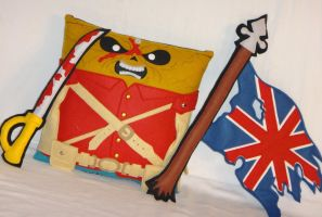 Handmade Iron Maiden Eddie Trooper v1.43 Pillow by RbitencourtUSA