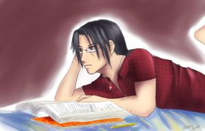 Itachi Learning by Schmogg