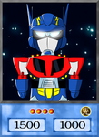 4Kids Card - X-Timus the Mini Bot by Moymoy13