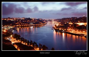 Towards the day's end, Porto by thanhdad