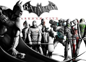 Batman: Arkham City by PacDuck