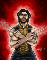 Marvel Collage Inidividual, Wolverine by TheJarett
