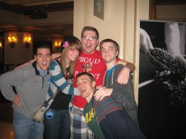 GMX 2013, Marble Hornets cast and myself c: by WolfyTheVampire