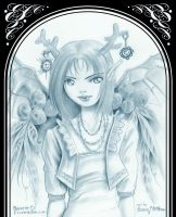 Angel Wing 4 - Puck by clarence-mcgraw