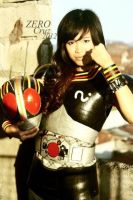 Kamen Rider Black Girl Version Cosplay by ishyishcream