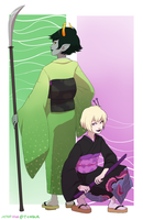 request - rose and kanaya by myotishi