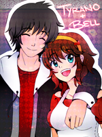 Bell + Tyrano! by Paint-Bell