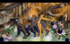 A Lesson at Dusk (Warrior Cats) by WarriorCat3042