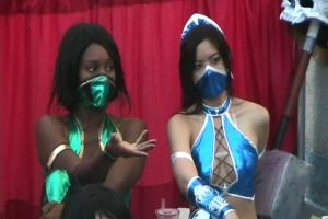 Jade and Princess Kitana!!!! by slasherman