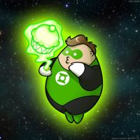 FAT Heroes:  Fat Lantern by zillabean