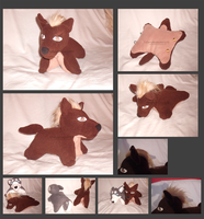 Ginga Nagareboshi Gin Koga pillow pet by darkpheonixchild
