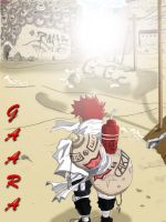 gaara-colour by redcolour