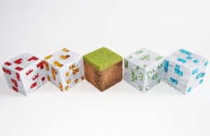 Minecraft Blocks by BBLegend