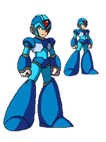 Megaman x the simple way by Methiou