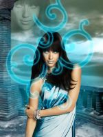 Goddess of Turquoise ... by Sherit-Ra