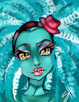 Monster high-Honey Swamp by RavenNoodle
