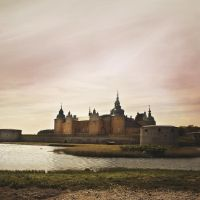 cindysart-stock castle in Kalmar Sweden by CindysArt-Stock