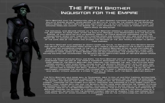 Fifth Brother character bio [New] by unusualsuspex