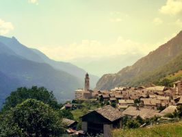 Soglio by Beapanz