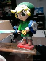 Windwaker Link made-o-foam by kabutali