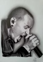 Chester Charles Bennington by Azargo93