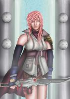 FF XIII : Lightning by Farstar-Art