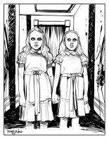 The Shining by MichelaDaSacco