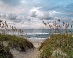Outer Banks Beach by JoBurrows