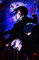 Black Butler, Blood Roses by EveningAlchemist