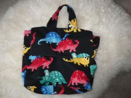 Dino Bag by Bwabbit